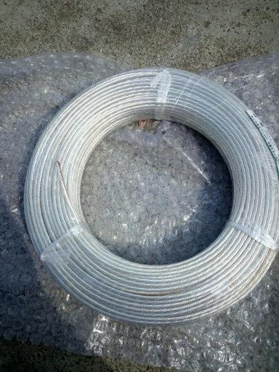 高科美芯 耐高温镀银导线 镀银高温线 高温线FF46-2电子细导线 主板供电线 电源延长线 3mm平方 一卷/100米 晒单图