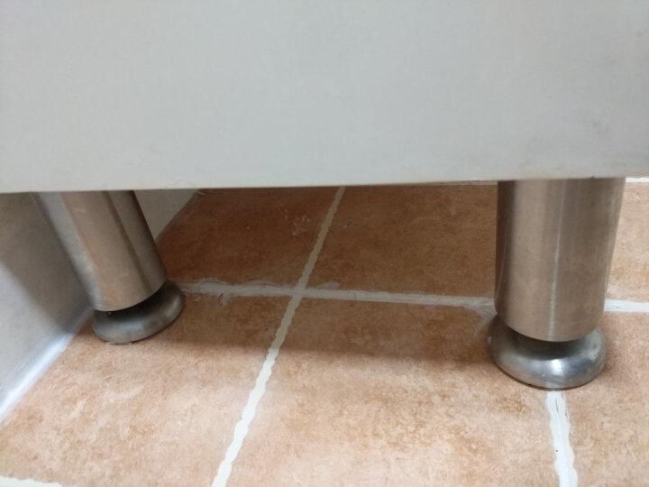 卡贝(cobbe)不锈钢五金脚垫 可调节高度 柜脚桌脚沙发脚床脚垫高 【单只】杯脚高10CM可调高1.5 晒单图