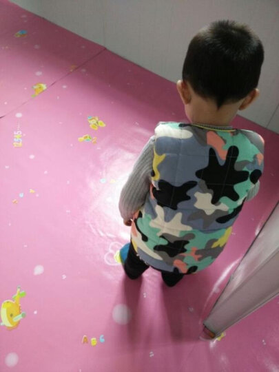 幼儿园塑胶地板革pvc地板贴纸加厚耐磨防水泥地板胶儿童房家用自粘地革地垫 1.0mm厚工程革GH027 晒单图