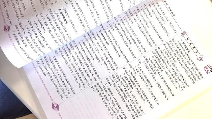 2018版 一飞冲天 初中语文 基础知识积累与运用 专项训练 晒单图
