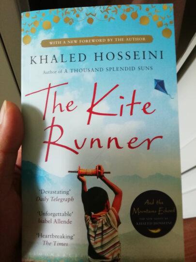 英文原版 The Kite Runner 追风筝的人 晒单图