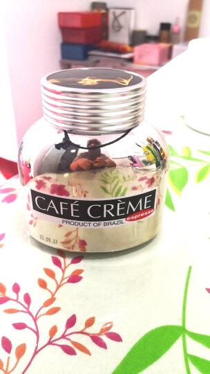 怡网啡俄罗斯进口 波旁贵族CAFECREME 精美包装系列速溶咖啡100g/瓶咖啡粉 速溶咖啡 坦桑尼亚式(金橙瓶)共1瓶 晒单图