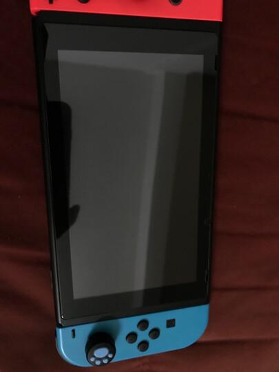 IVR 任天堂SWITCH钢化膜/NS游戏机抗蓝光屏幕保护贴膜专用/防指纹玻璃膜NS配件 透明高清*AGC钢化膜二片装 晒单图