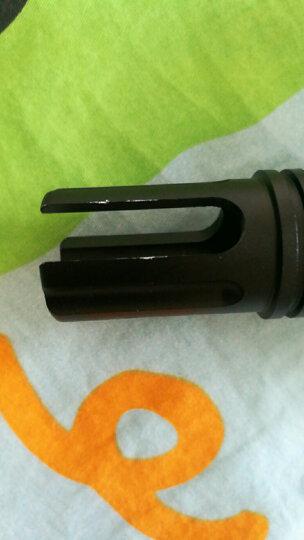 锦明8代下供弹M4玩具枪金属消音火帽器可调节NERF玩具专用装饰金属配件仿真模型 刻字喷火猪 晒单图