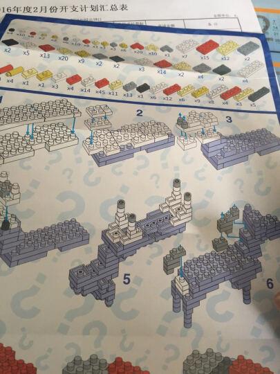 【正版授权】森宝流浪地球乐高式积木玩具大颗粒立体拼插拼装益智玩具 CN373箱式运载车车头-1445颗粒 晒单图