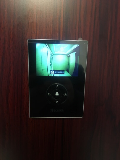 移康智能(eques) wifi叮咚mini电子猫眼无线监控对讲可视门铃摄像头家用报警器 侦测版A21(送16G卡+3米数据线) 晒单图