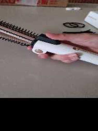 奥克斯(AUX) 卷直两用卷发棒 夹板卷发器 直板夹直发棒卷发神器 拉直板电夹板烫发器迷你陶瓷不伤发 三合一(白色) 晒单图