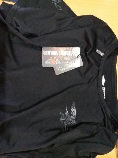 兵行者军迷户外服装 男士夏季海豹特战队速干吸汗T恤 变形金刚款战术半袖 体能训练服 军绿色 XXL号 晒单图
