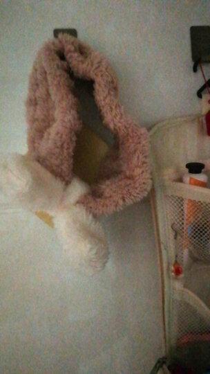 欧润哲 洗脸发带 2条装洗漱束发带敷面膜洗脸头巾日系头巾 粉色 晒单图