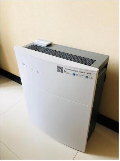 布鲁雅尔(Blueair)空气净化器 203Slim 除甲醛家用 防PM2.5除尘除烟卧室净化静音 晒单图