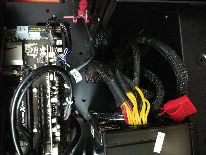 迎广(IN WIN)904 Plus 曜石黑 ATX中塔式机箱 /铝合金/钢化玻璃/双面侧透(USB3.0 *4 ) 晒单图