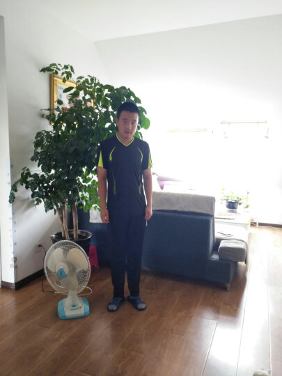 【玛品Mapping】短袖运动套装男女2019年夏季新款 情侣修身透气户外团购班服LOGO定制运动衣 【新款】短袖白色#1827 男款-XL 晒单图