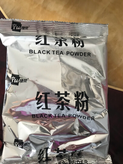 香港品牌 捷荣锡兰红茶粉 港式丝袜奶茶适用原料进口 斯里兰卡红茶170g/袋 创实1号 晒单图