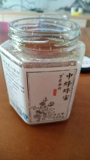 吐火罗云南深山蜂蜜野生原蜜农结晶中蜂土蜂蜜500g 晒单图