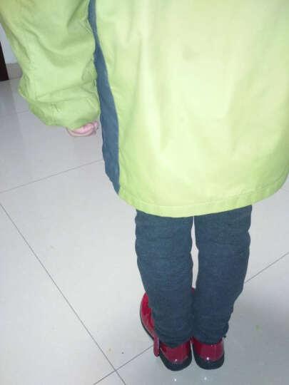 童鞋女童皮鞋舞蹈鞋春秋款儿童单鞋豆豆鞋中大女童公主鞋方口瓢鞋夏季 深口黑色 35码/内长21.8cm 晒单图