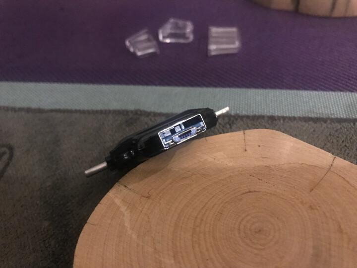 BIAZE 苹果接口 micro SD TF卡读卡器 苹果手机U盘读卡器 金属 通用iPhone 7/5s/6s/6Plus/iPad mini/air A7-银 晒单图