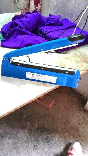封口机小型家用手压迷你封塑料铝箔袋食品热封机茶叶袋包装机密封机 蓝色300型 晒单图