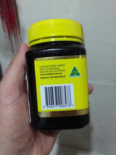 澳洲进口 康蜜乐(CAPILANO) 麦卢卡花蜂蜜(5+)方瓶 500g 晒单图