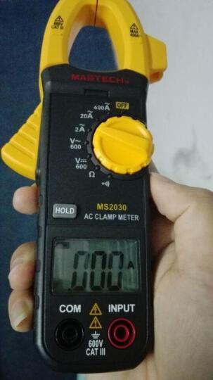 MASTECH 华仪 交直流数字钳形电流表数字钳形万用表MS2030 MS2030 晒单图