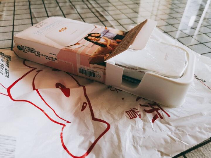 惠普(HP)小印Sprocket 100(白) 手机口袋照片打印机 年会礼品 节日礼物 蓝牙连接 手账必备 晒单图