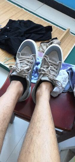 宸超(CHENCHAO)男鞋休闲帆布鞋子男2019春季新款低帮板鞋休闲鞋男潮 灰色 40 晒单图