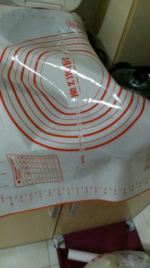 魔幻厨房 【7仓发货】 大号铂金硅胶垫揉面垫耐高温防滑不沾案板 烘焙工具 擀面垫 晒单图