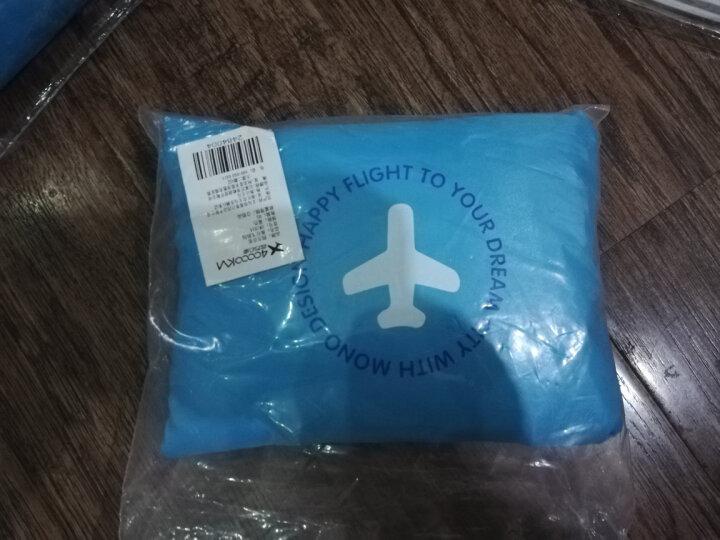 四万公里 旅行收纳包可套拉杆箱 便携式可折叠行李整理袋 男女 出差单肩手提大容量防水衣物袋 SW1014 玫红色 晒单图