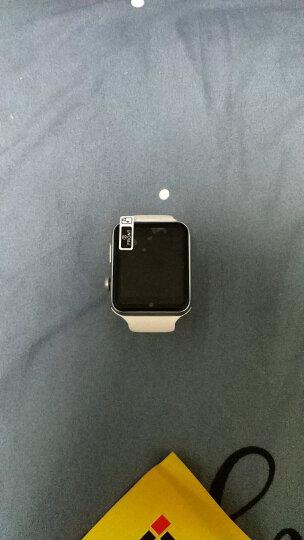 【包邮】新款初中生高中生男女学生电话手表可插卡打电话智能手表闹钟计步器睡眠检测久坐提醒 银白 晒单图