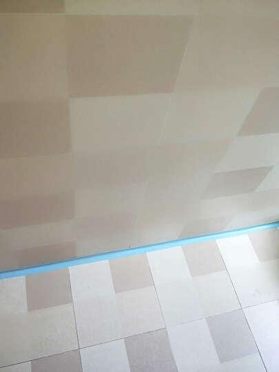 菲享 厨房防水防霉胶带 浴室接缝美缝防潮条挡水条墙角线贴 蓝色 2800*38mm 晒单图