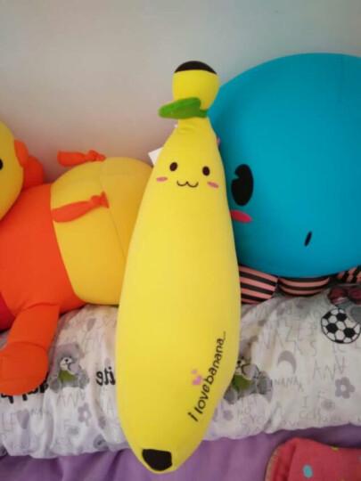 舒宠(sheepet)香蕉毛绒玩具粒子软体娃娃公仔 长条形抱枕玩偶靠枕节日礼物 中香蕉+小香蕉+绘本 晒单图