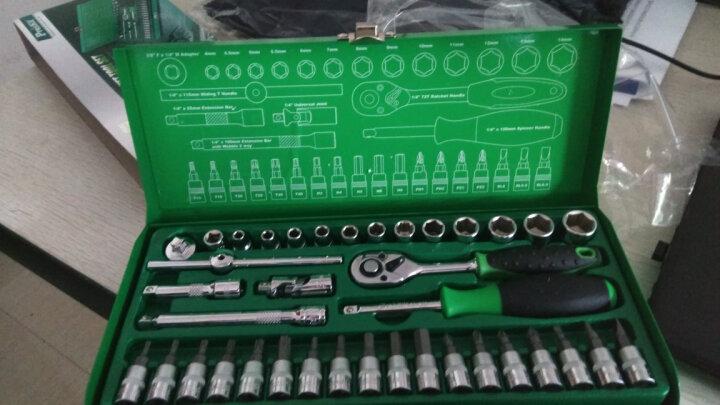 宝工(Pro'skit) SK-23801M 1/4 寸38件套筒工具组  汽修机修专用 晒单图
