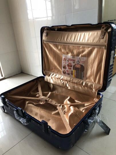 osdy拉杆箱行李箱万向轮男女旅行箱配色 A929拉链黑色 20吋短途3至7天1人行 晒单图