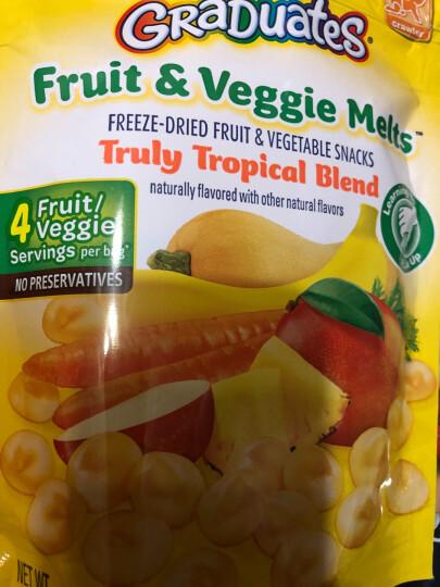 嘉宝Gerber婴幼儿辅食 有机蜜桃杏子胡萝卜酸奶4段12个月以上99g/袋美国进口 晒单图