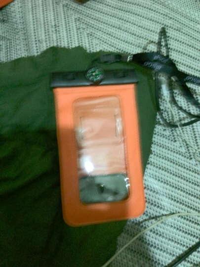 宾果iphone5手机防水包防水袋大屏防水套苹果三星Galaxy note3防水袋小米华为 5-5.7寸带指南针红色 晒单图
