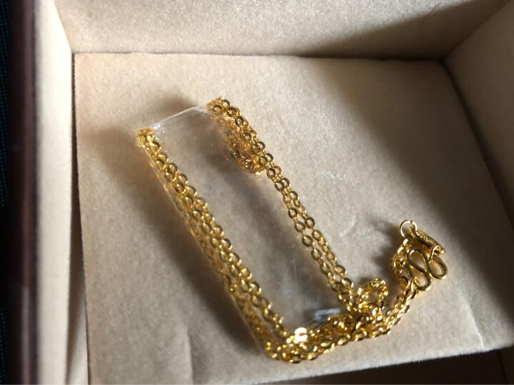 周生生 黄金足金六字大明咒吊坠  不含黄金项链 85735P 计价 4.28克(含工费140元) 晒单图