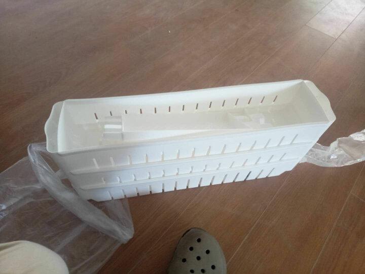 厨房卫生间置物架浴室储物架收纳塑料收纳箱缝隙置物架收纳盒 三层组合(热卖) 晒单图