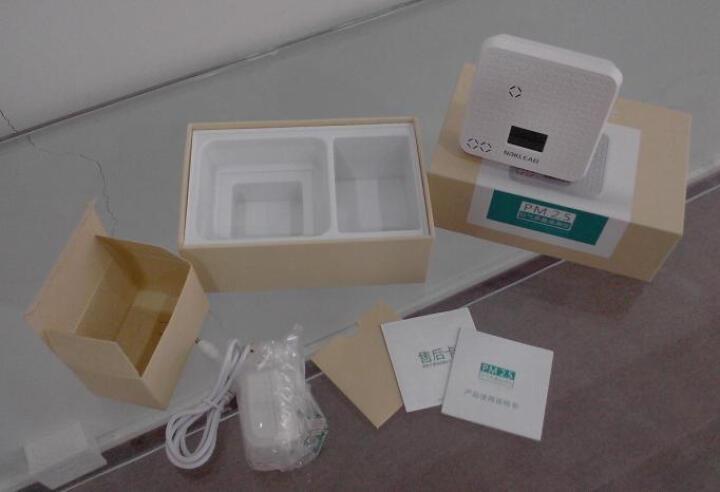 NOKLEAD诺科兰德PM2.5空气质量检测仪 家用智能温度干湿度检测仪APP数据实时监测 晒单图