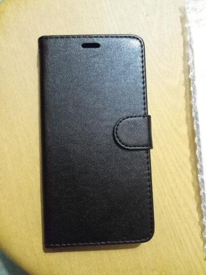 凡盾  华为荣耀6A皮套手机壳保护套硅胶套软壳全包 适用于华为畅玩6A DLI-AL10 荣耀6a 黑色-送钢化膜+礼包 晒单图