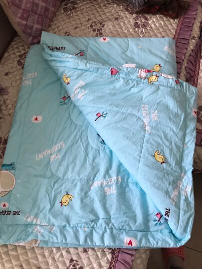 指向标 婴儿被子纯棉幼儿园宝宝空调被新生儿童夏凉被盖被 冬日小象 150*120夏凉被 晒单图