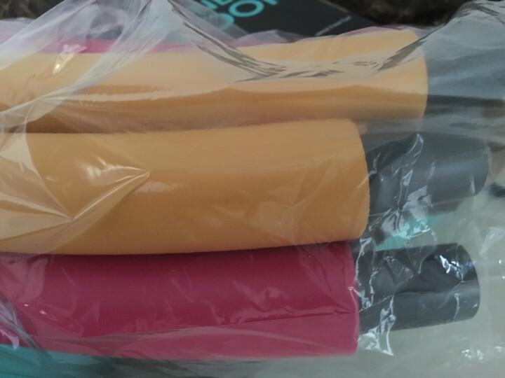 米客 男女呼啦圈韩式成人软指压可拆卸海绵健身弹簧健身运动器材家用 橙红色 3磅 晒单图