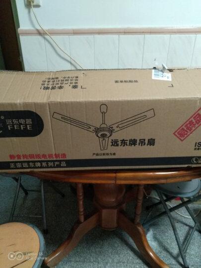远东风扇FC-20电风扇吊扇吸顶扇1200mm48寸家用楼顶扇 1.2米白色吊扇 晒单图