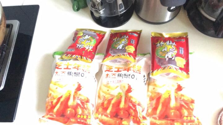 【免运费】韩式料理原味芝士夹心年糕 500g 部队火锅食材 送年糕酱  晒单图