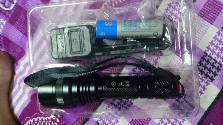 神火(supfire)C8 强光手电筒远射LED充电式迷你防身骑行户外灯 晒单图