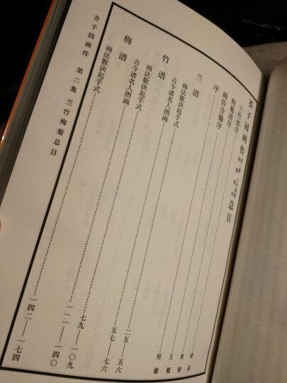 芥子园画传第4集:人物(巢勋临本) 晒单图