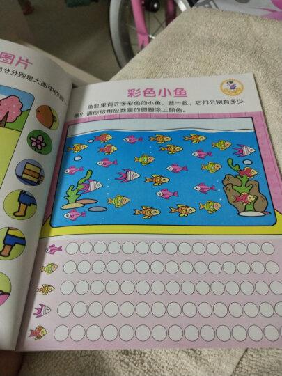 专注力训练书 全套8册聪明宝宝系列 幼儿3-6岁儿童思维训练游戏书 5分钟玩出专注力 左右脑开发书 晒单图