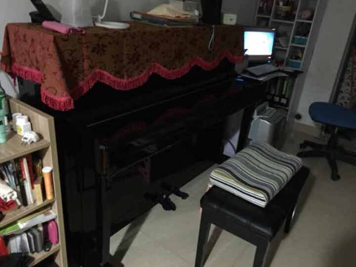 KAWAI KU-CA立式钢琴 家用教学 日本原装击弦机 带缓降系统 高度117cm 晒单图