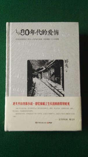 野夫经典作品:身边的江湖+1980年代的爱情(套装共2册) 晒单图