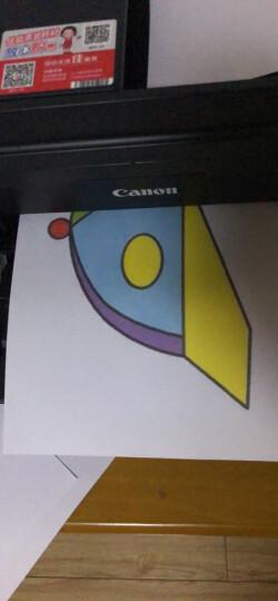 佳能(Canon) E488彩色喷墨打印机一体机 打印复印扫描传真机 无线家用照片打印机 官方标配 晒单图