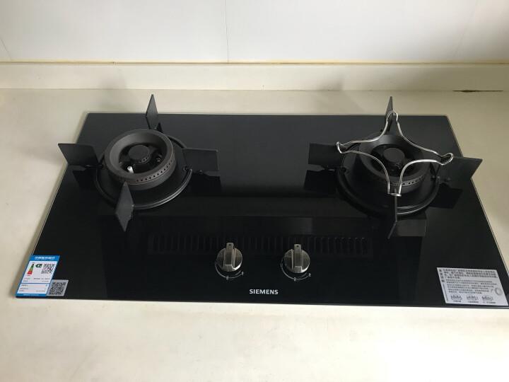 西门子(SIEMENS)侧吸自清洁抽油烟机燃气灶具套装 962+71236 天然气 晒单图