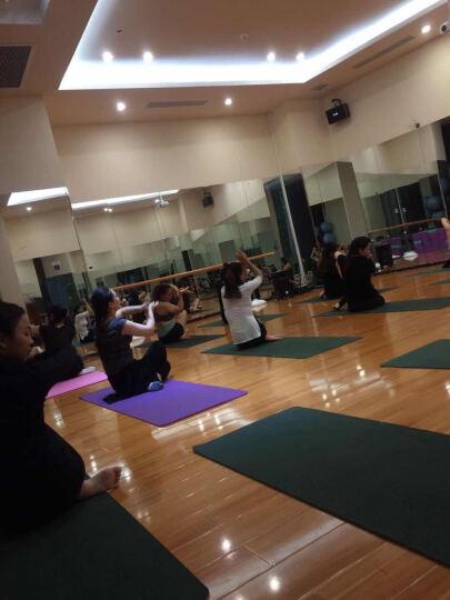 艾米达 瑜伽服女套装新款大码春夏健身房显瘦运动套装 专业舞蹈练功服广场舞服含胸垫 白+黑(套装) S 晒单图